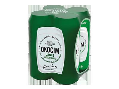 Piwo Okocim Jasne Okocimskie 500ml