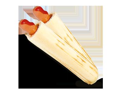 2x hot-dog parowka