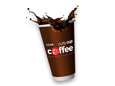 kawa curly cup