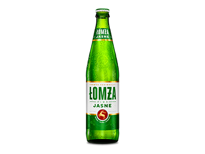 Piwo Lomza Jasne 500ml