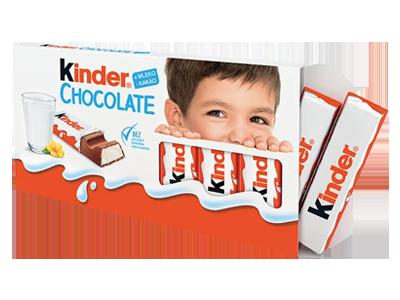CZEKOLADKI KINDER CHOCOLATE 100G