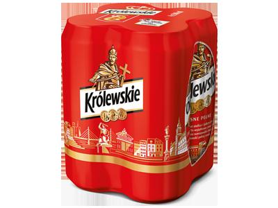 PIWO KRÓLEWSKIE 4-PAK 500ML