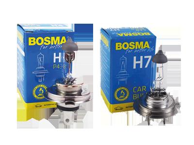 ZAROWKI BOSMA H4 H7